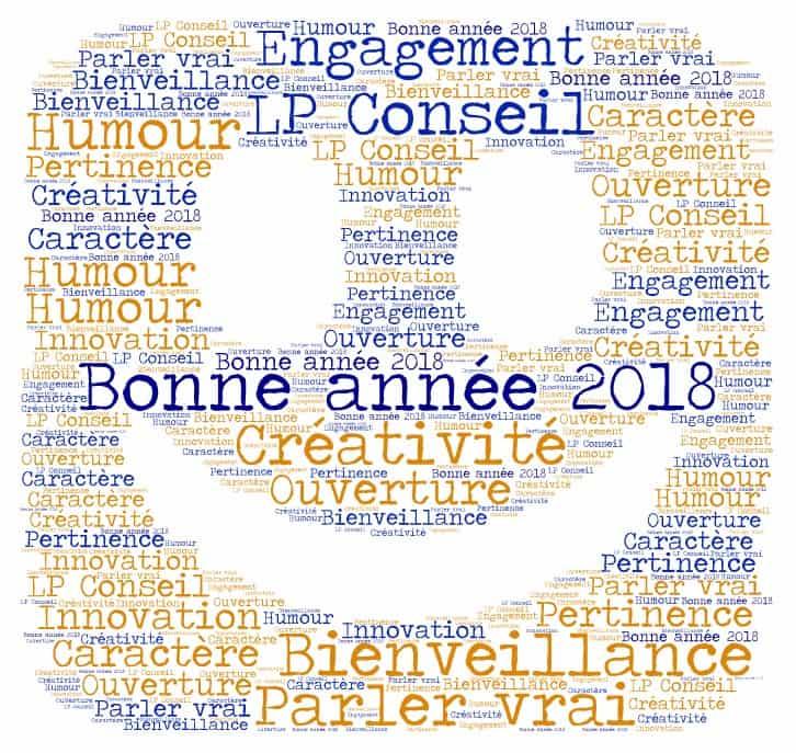 Toute l'équipe LP Conseil vous souhaite une excellente année 2018 !